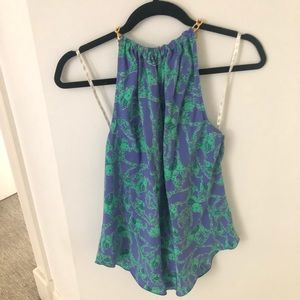 lilly pulitzer trunk show chain halter top